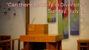 Can there be Unity in Diversity?